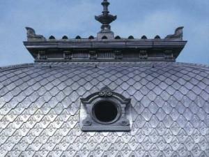 Крыша из алюминия