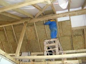 Строительство деревянной крыши дома