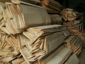 Деревянные гонты
