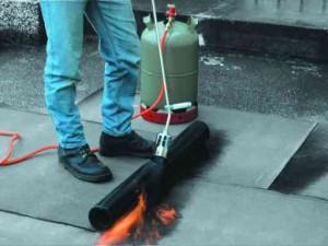 Пример использования горелки
