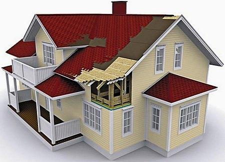Проект крыши из металлочерепицы