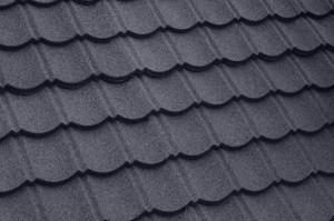 Пример покрытия крыши композитной черепицей