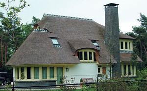 Готовая камышовая крыша