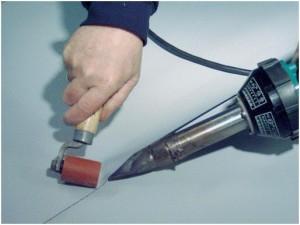 Сварка рулонов полимерного материала