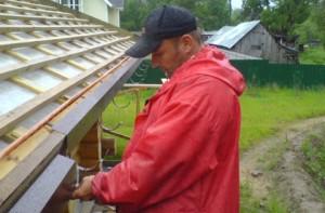 Подготовка обрешетки к монтажу металлочерепицы