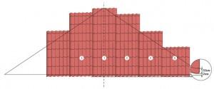 Пример расчета металлочерепицы на крышу