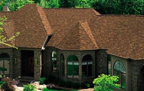 Пример крыши из мягких кровельных материалов