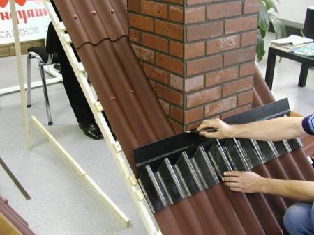 Пример покрывающего фартука