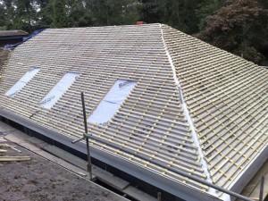 Обрешетка под крышу из профнастила